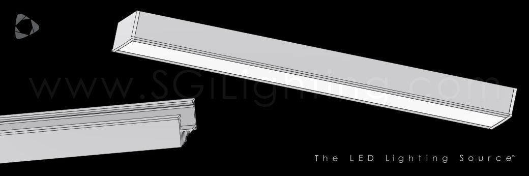 Image of SGi's LED Flex Track Recessed 2113