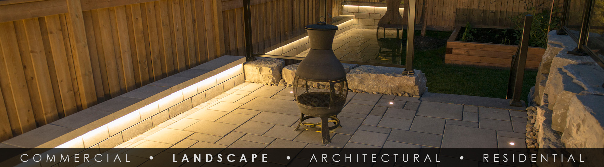 SGi LED Landscape Lighting Deck and Patio Lighting