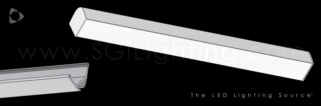 Image of SGi's LED Flex Track Angled 2622