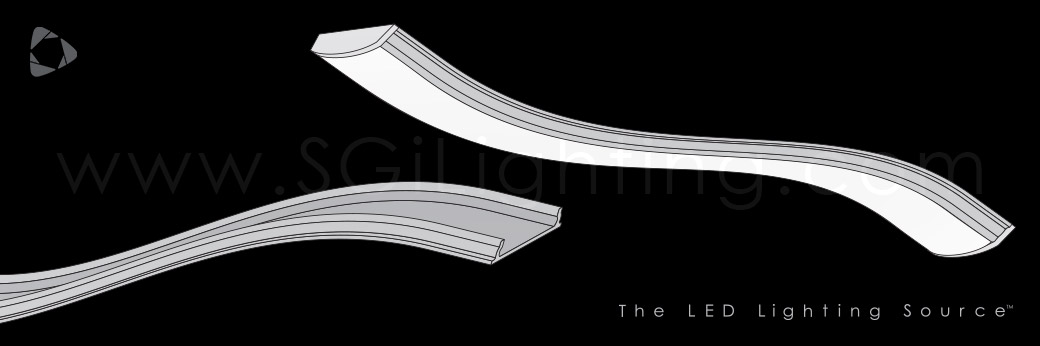 Image of SGi's LED Flex Track Bendable 1806