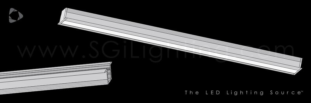 Image of SGi's LED Flex Track Recessed 1212