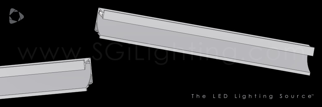Image of SGi's LED Flex Track Recessed 1468