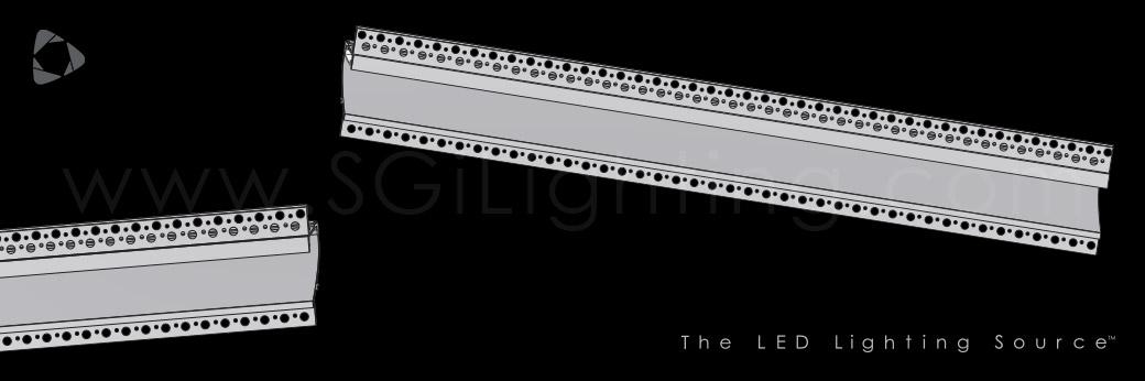 Image of SGi's LED Flex Track Recessed 1996