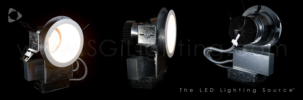 Banner Image of SGi's LED Commercial Downlights 35W 8 IN