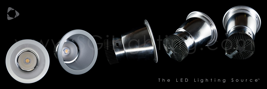 Banner Image of SGi's LED Commercial Downlight 42W 10IN