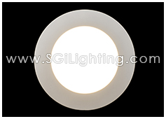 SGi LED Downlight 9 Watt Low Profile 4 Inch Round Light