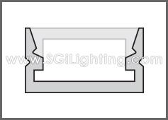 LED Track Low Profile
