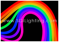 SGi LED Neon Light Flat Top RGB