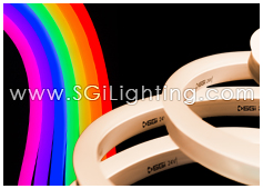 SGi LED Neon Light Flat Top RGBW