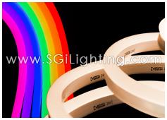 SGi LED Neon Light Flat Top RGBW