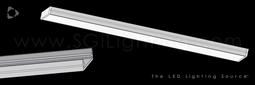 Image of SGi's LED Flex Track Low Profile 1407