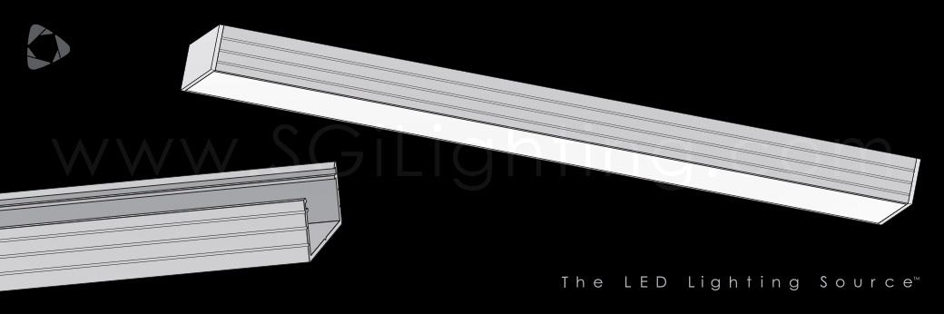 Image of SGi's LED Flex Track Low Profile 1813