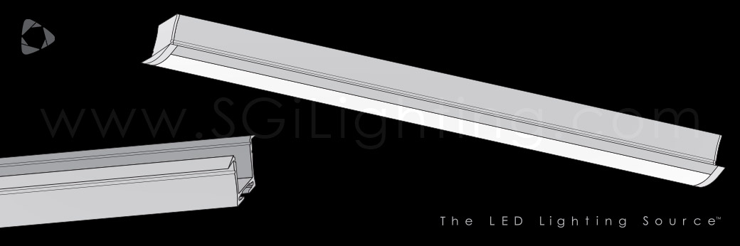 Image of SGi's LED Flex Track Recessed 2428
