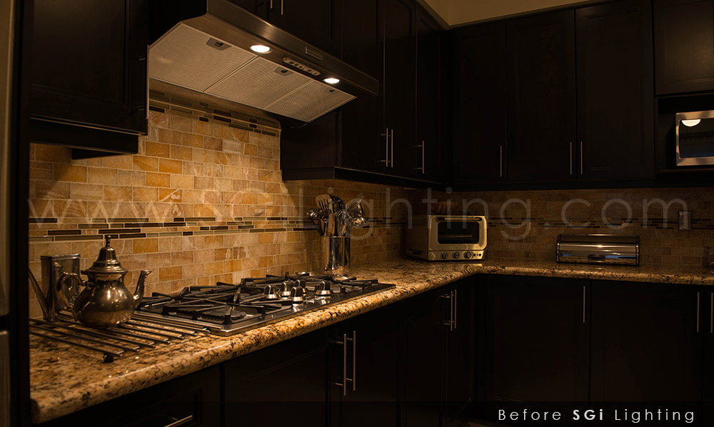 LED Kitchen Lighting ... & Abdoulayeu0027s LED Kitchen Lighting | SGi Lighting azcodes.com